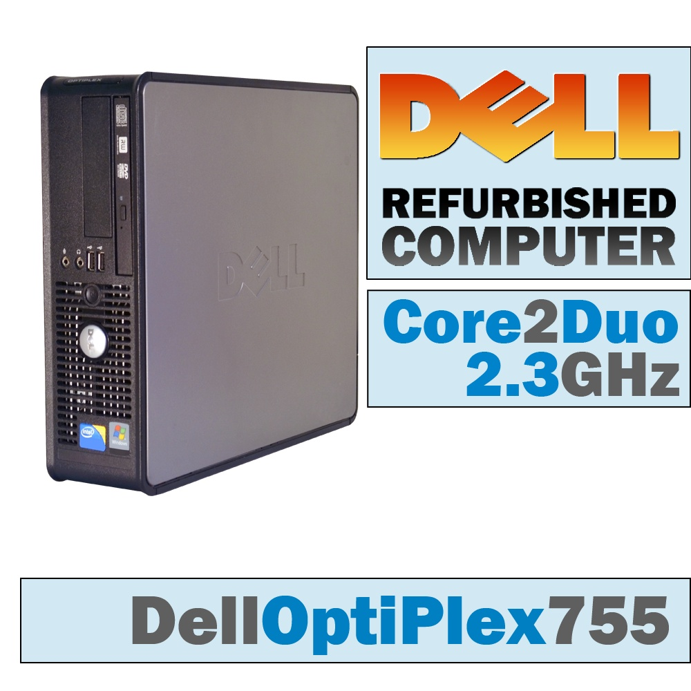 Dell OptiPlex 755 SFF/Core 2 Duo E6550 @ 2.33 GHz/DVD-RW