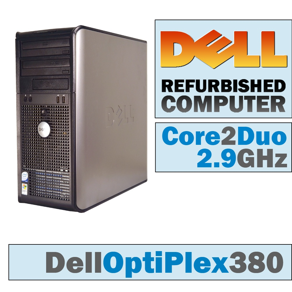 Dell OptiPlex 380 MT/Core 2 Duo E7500 @ 2.93 GHz/DVD-RW