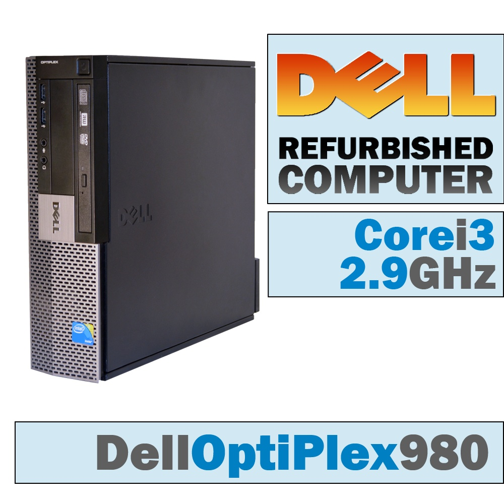 Dell OptiPlex 980 SFF/Core i3-530 @ 2.93 GHz/DVD-RW