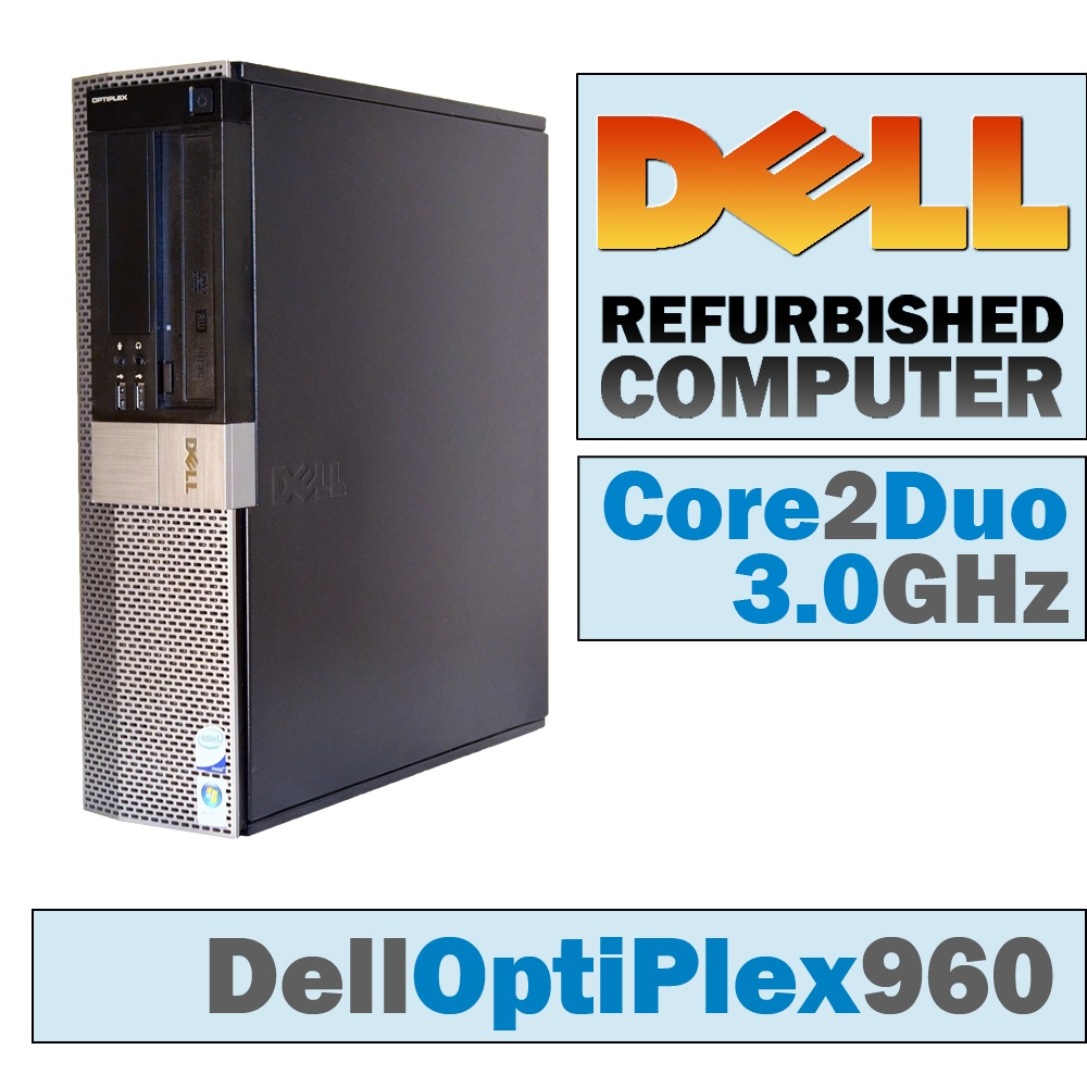 Dell OptiPlex 960 DT/Core 2 Duo E8500 @ 3.17 GHz/DVD-RW