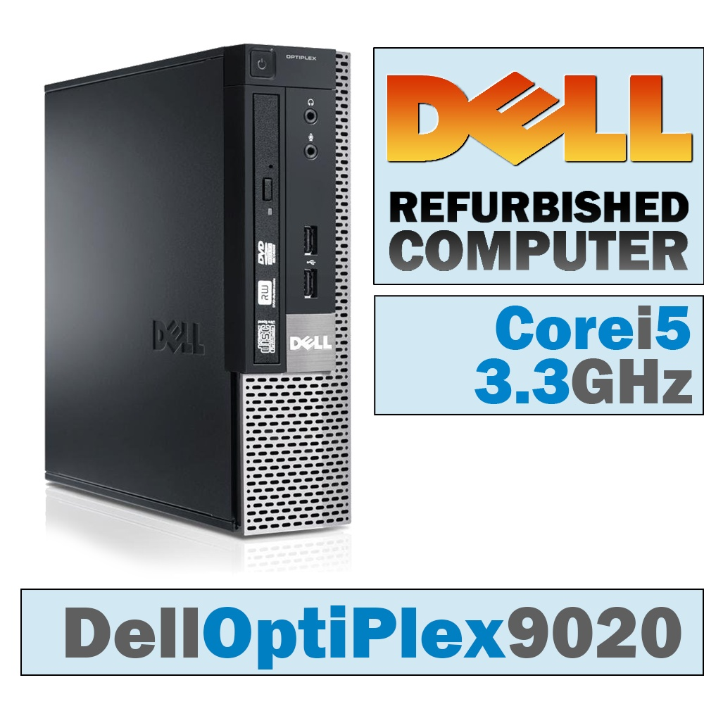Dell OptiPlex 9020 USFF/Core i5-4590 @ 3 3 GHz/DVD-RW