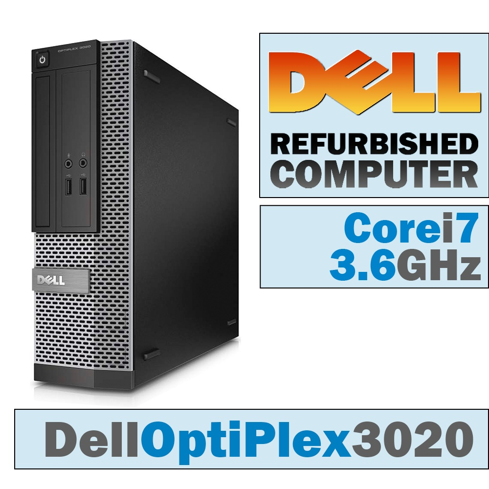 Dell OptiPlex 3020 SFF/Core i7-4790 @ 3.6 GHz/DVD-RW