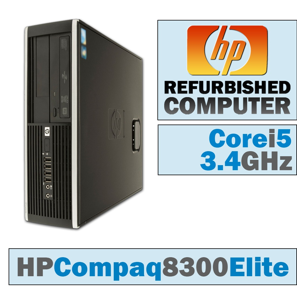 HP Compaq Elite 8300 SFF/Core i5-3570 @ 3.4 GHz/DVD-RW