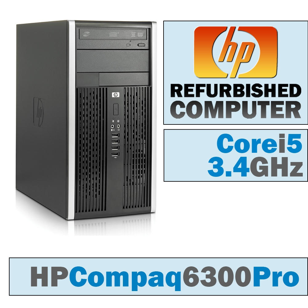 HP Compaq Pro 6300 MT/Core i5-3570 @ 3.4 GHz/DVD-RW