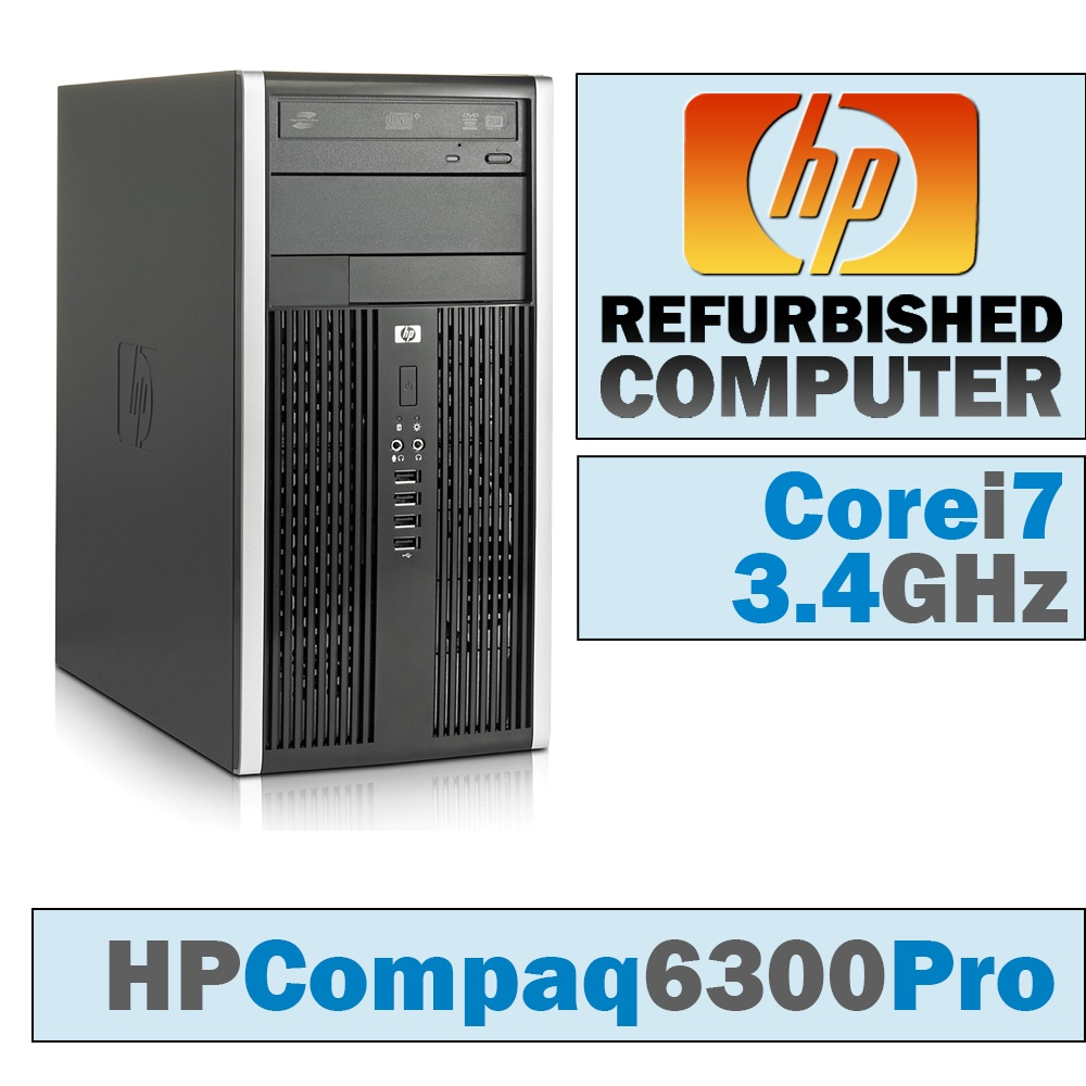 HP Compaq Pro 6300 MT/Core i7-3770 @ 3.4 GHz/DVD-RW